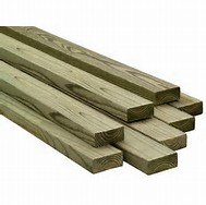 pressure treated wood and lumber products available at West End Lumber in Cleveland