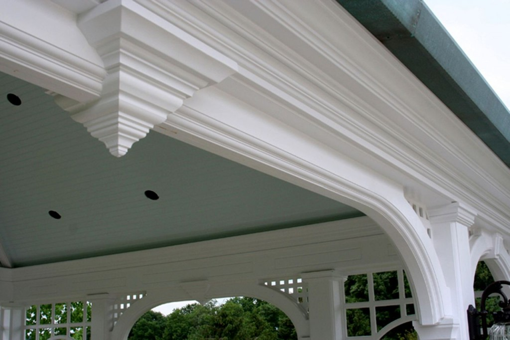 pvc trim for outdoor use replaces maintenance heavy wood trim