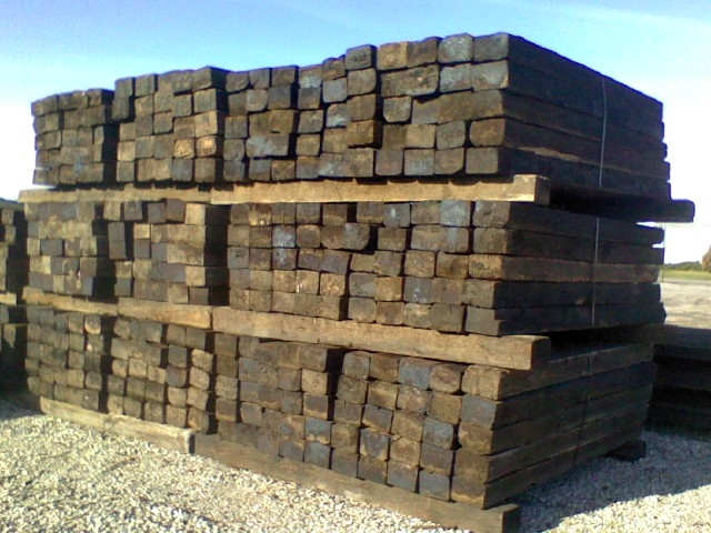 railroad ties for landscaping