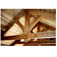 Wood framing trusses
