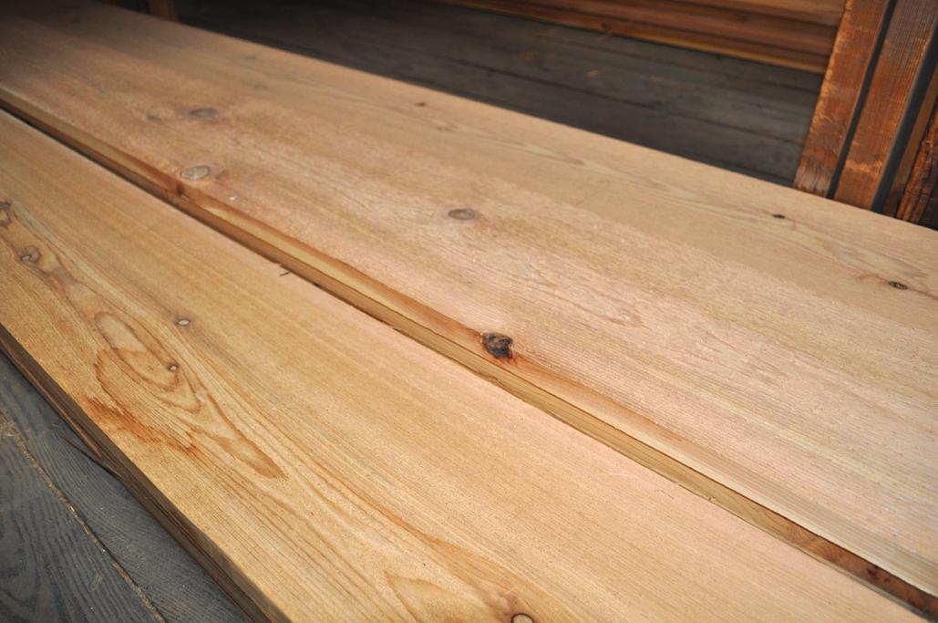 Hardwood Cedar Planks
