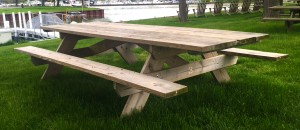 pressure treated picnic tables