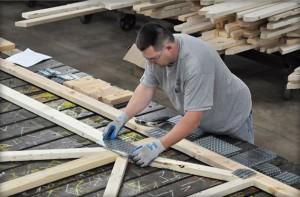 standard roof trusseds