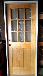 Custom order doors delivered to your home